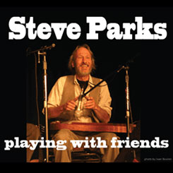 Steve Parks playing with friends